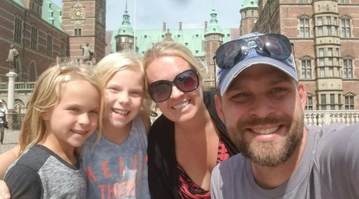 Greg Johnson and family