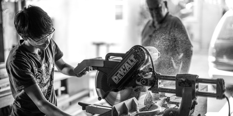 teen woodworking